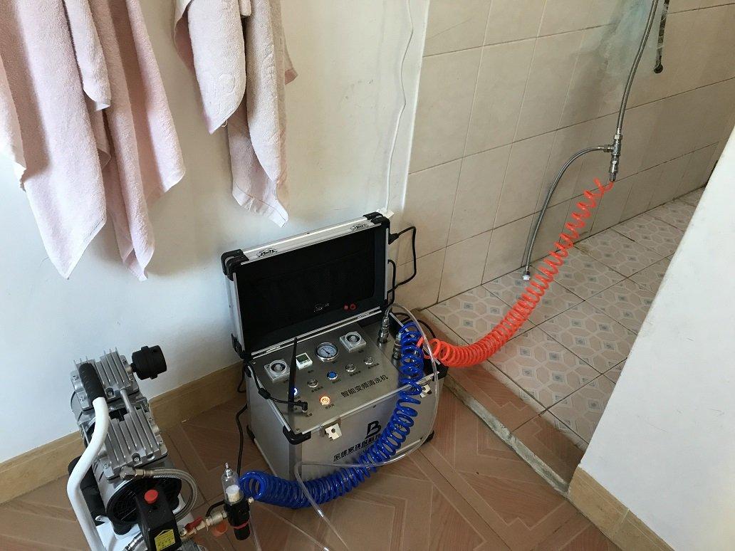 水管清洗前后图片对比