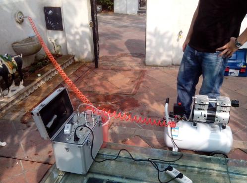 高周波变频脉冲仪清洗方法,水管清洗流程