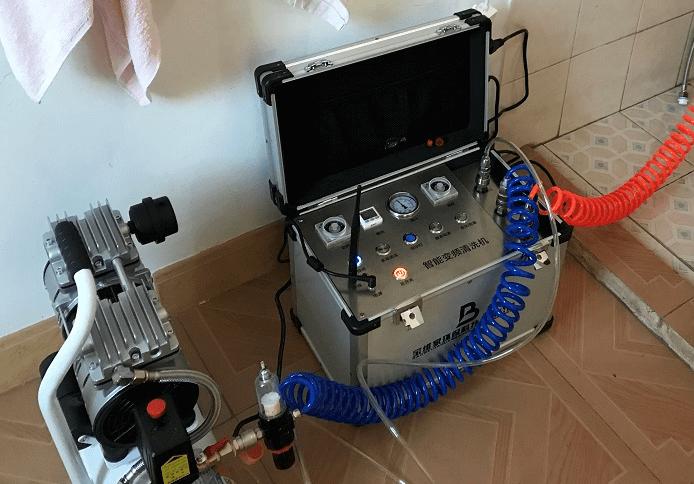 高周波水管清洗机的原理是什么?