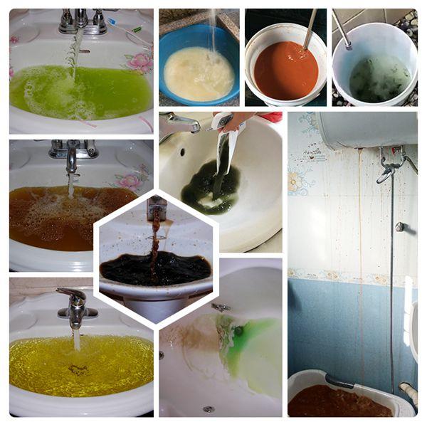 水管清洗效果如何?