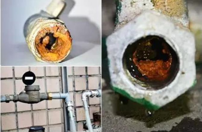 你知道自来水管道有多脏吗?