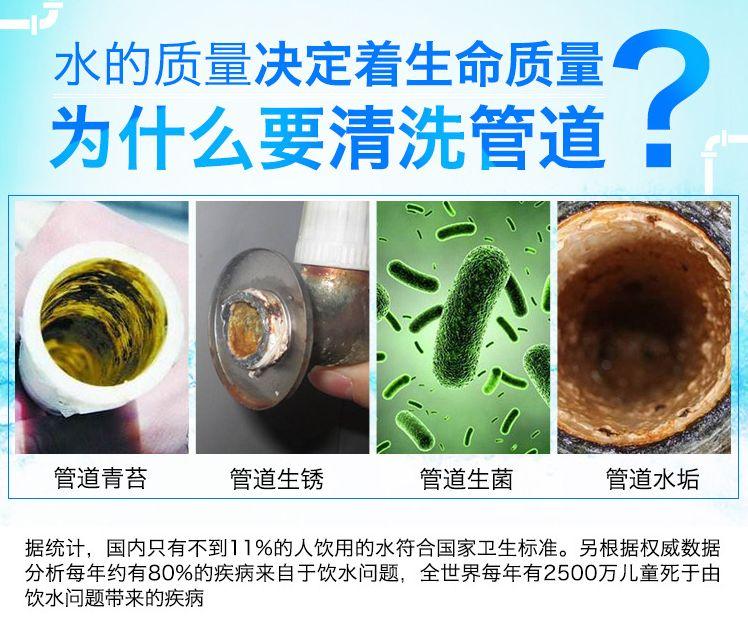 如何判别水管清洗方式的好坏?