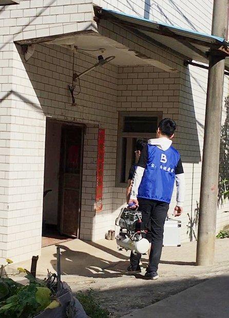 福建厦门家庭住宅自来水管设备清洗案例