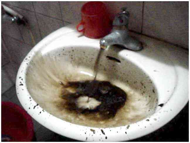 浙江省杭州市某家庭住宅自来水管清洗案例